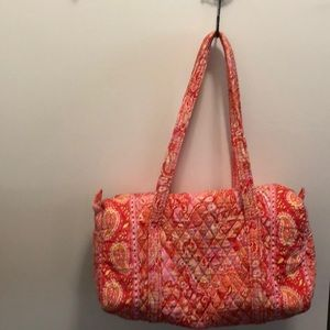 Great condition Vera Bradley iconic small duffel